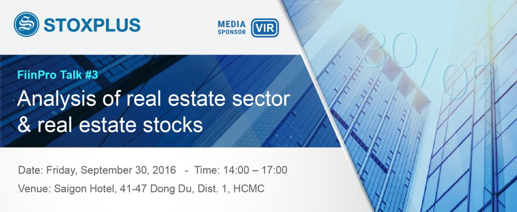 # FIINPRO TALK #3: Analysis of real estate sector and real estate stocks