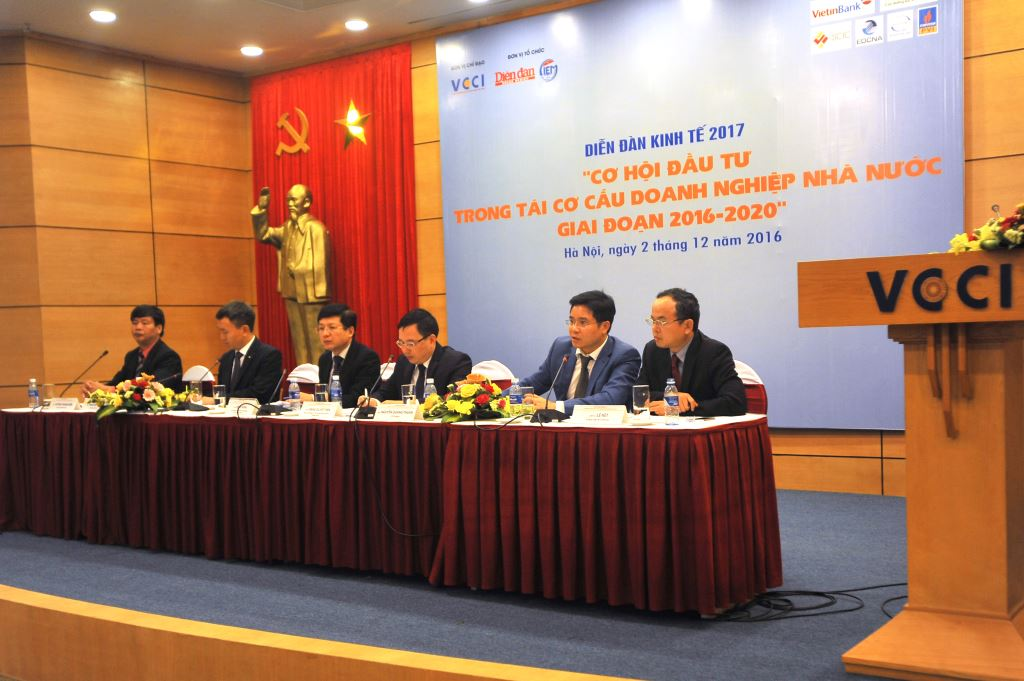 "CEO Thuan Nguyen Speaks at Conference: ""Vietnam Business Forum: Investment Opportunities from SOE IPO and Divestments""- Hanoi, 2nd December 2016"