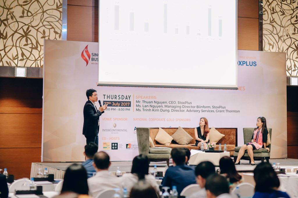 StoxPlus Co-organizes with Singapore Business Group to Organize RAFFLES Night – Vietnam M&A Market: Opportunities for Foreign Investors