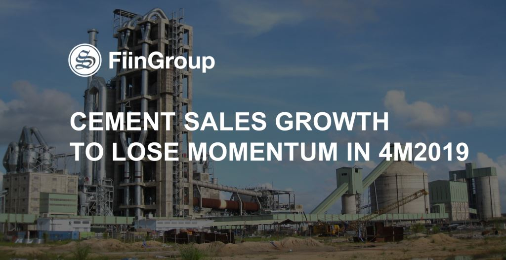 Vietnam cement market: Sales growth to lose momentum in 4M2019