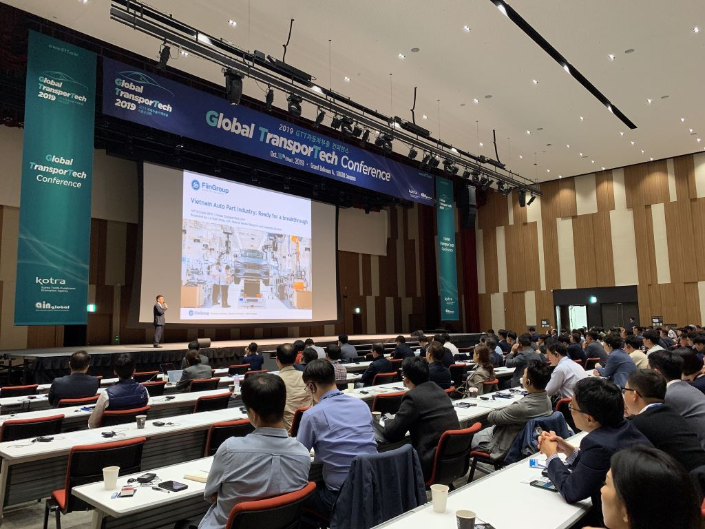 FiinGroup joined as Speaker at Global TransporTech 2019 in Korea