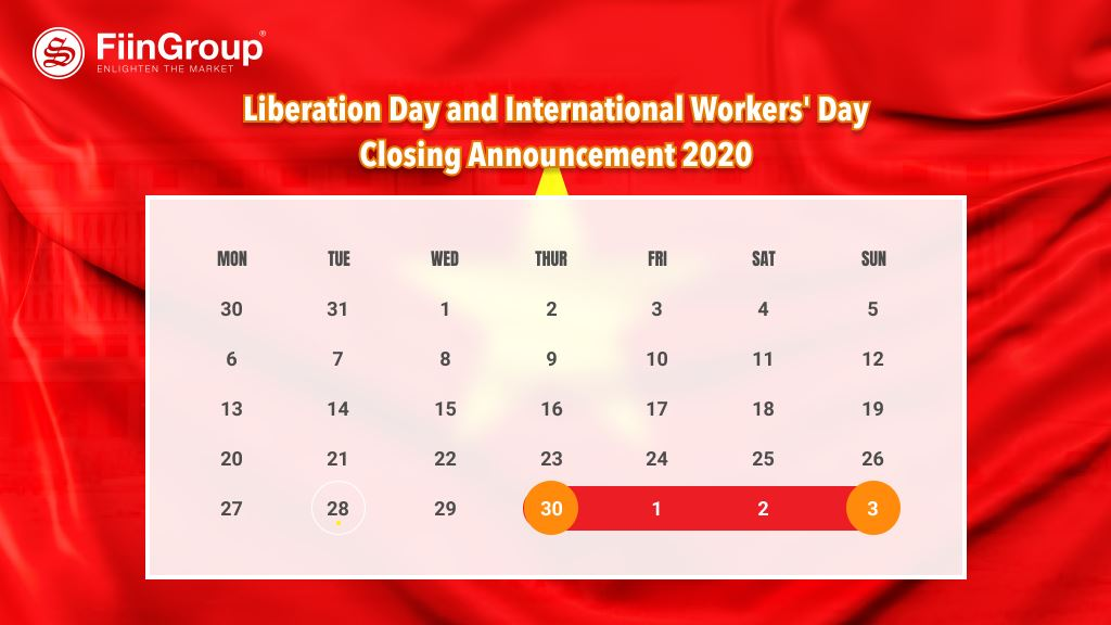 FiinGroup - Liberation Day and International Workers' Day Closing Announcement 2020